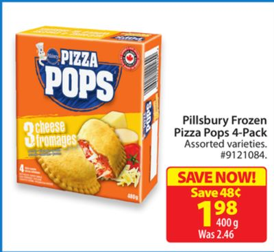 Pillsbury Frozen Pizza Pops