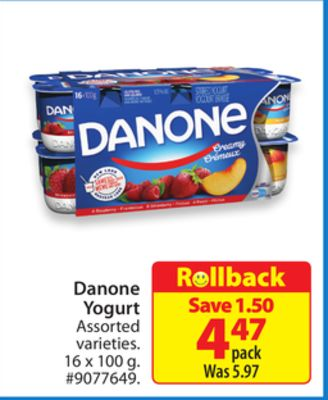 Danone Yogurt