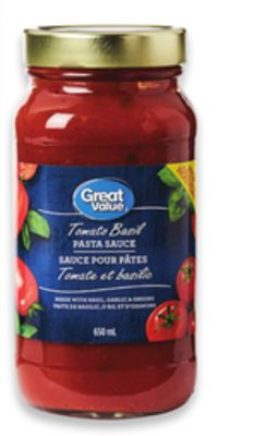Great Value Pasta Sauce