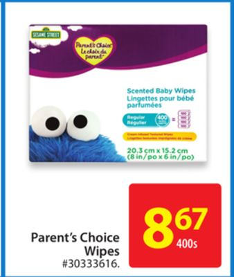 Parent's Choice Wipes