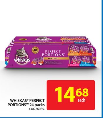 Whiskas Perfect Portions 24 Packs