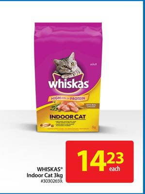 Whiskas Indoor Cat 3kg