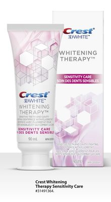 Crest Whitening Therapy Sensitivity Care