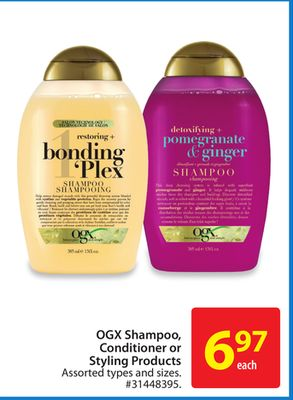 Ogx Shampoo.conditioner or Styling Products
