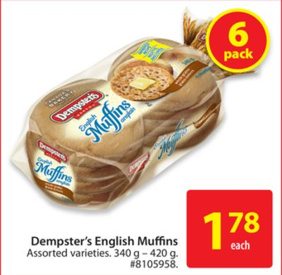 Dempster's English Muffins
