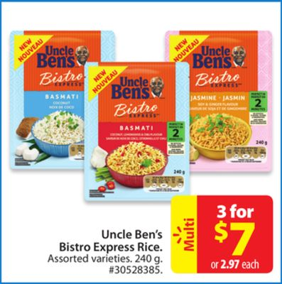 Uncle Ben's Bistro Express Rice