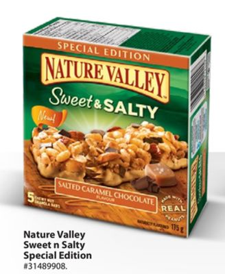 Nature Valley Sweet N Salty Special Edition