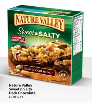 Nature Valley Sweet N Salty Dark Chocolate
