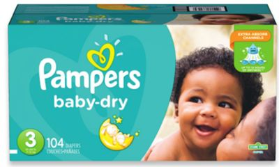 Pampers Superpack Baby Dry Diapers
