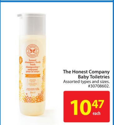 The Honest Company Baby Toiletries