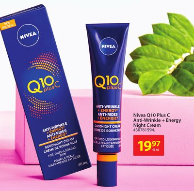 Nivea Q10 Plus C Anti-wrinkle + Energy Night Cream