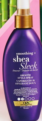 Ogx Smoothing + Shea Sleek Smooth Style Spray