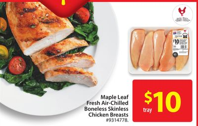 Maple Leaf Boneless Skinless Chicken Breasts