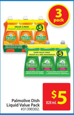Palmolive Dish Liquid Value Pack
