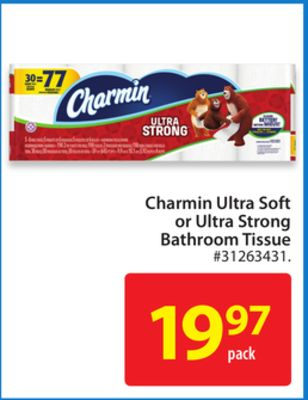 Charmin Ultra Soft or Ultra Strong Bathroom Tissue
