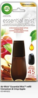 Air Wick Essential Mist Refill Cinnamon & Crisp Apple