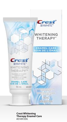Crest Whitening Therapy Enamel Care