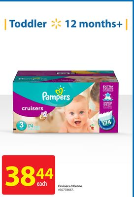 Pampers Cruisers-3 Econo