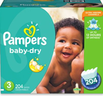 Pampers Baby-dry Econo Diapers
