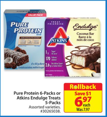 Atkins Endulge Treats 5-packs