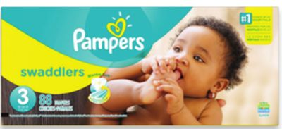 Pampers Swaddles or Cruiser Super Pack Diapers