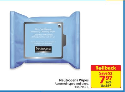 Neutrogena Wipes