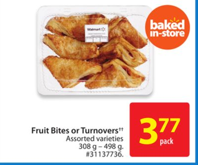 Fruit Bites or Turnovers