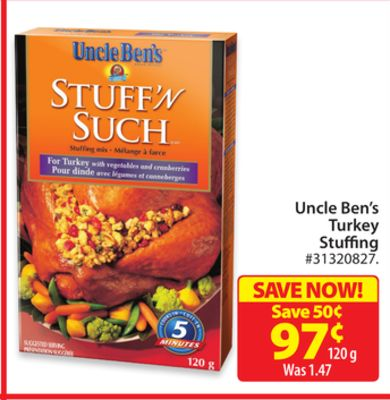 Uncle Ben's Turkey Stuffing