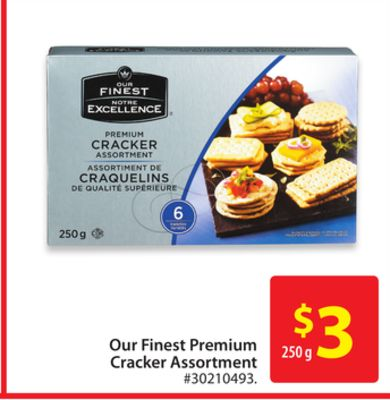 Our Finest Premium Cracker Assortment
