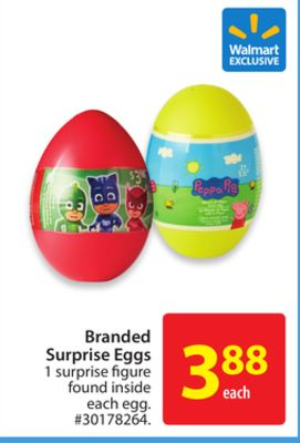 Branded Surprise Eggs