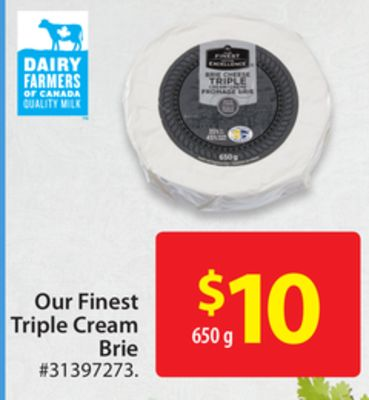 Our Finest Triple Cream Brie