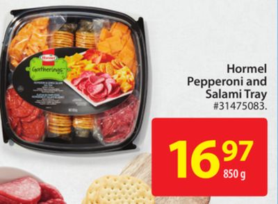 Hormel Pepperoni and Salami Tray