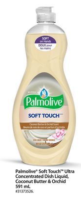 Palmolive Soft Touch Ultra Concentrated Dish Liquid - Coconut Butter & Orchid 591 mL