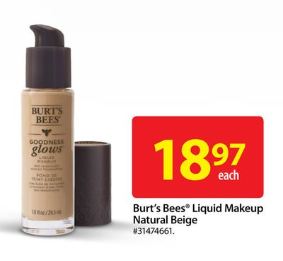 Burt's Bees Liquid Makeup Natural Beige