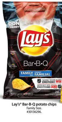 Lay's Bar-b-q Potato Chips Family Size