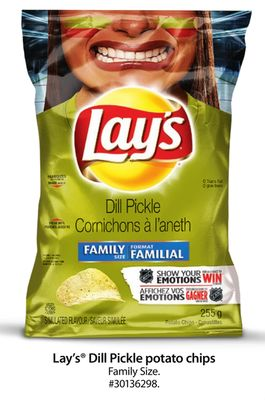Lay's Dill Pickle Potato Chips Family Size