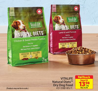 Vitalife Natural Diets Dry Dog Food
