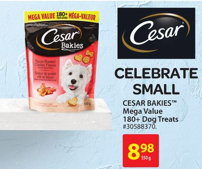 Cesar Bakies Mega Value180+ Dog Treats