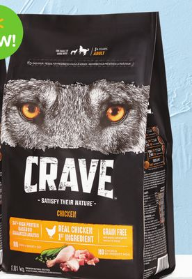 Crave Grain-free Chicken Dry Dog Food