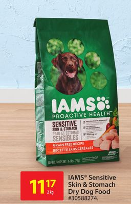 Iams Sensitive Skin & Stomach Dry Dog Food