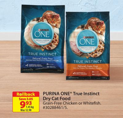 Purina One True Instinct Dry Cat Food