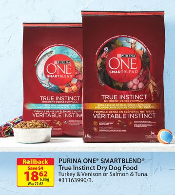 Purina One Smartblend True Instinct Dry Dog Food