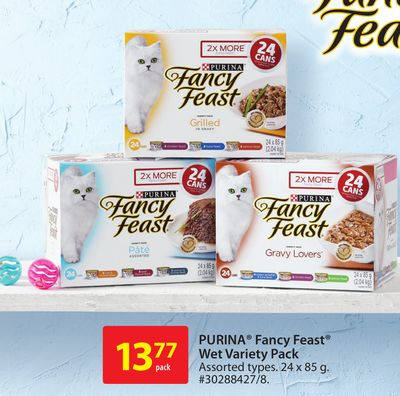 Purina Fancy Feast Wet Variety Pack
