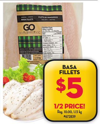 how to cook basa fillets