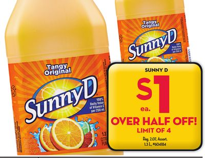 CONTACT US : SUNNYD - Sunny Delight | Sunny D Coupons