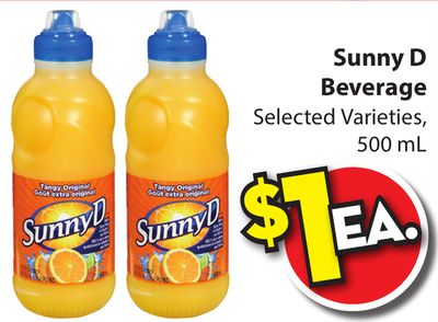 Sunny D Manufacturing - Inventory