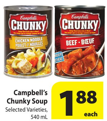 Campbell S Kitchen Recipes Chunky Soup