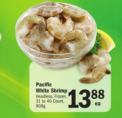 Pacific White Shrimp on sale | Salewhale.ca - photo#30