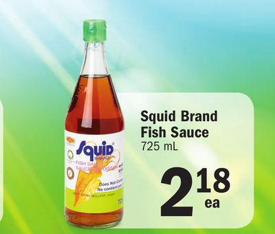 Squid brand fish sauce on sale for Squid fish sauce