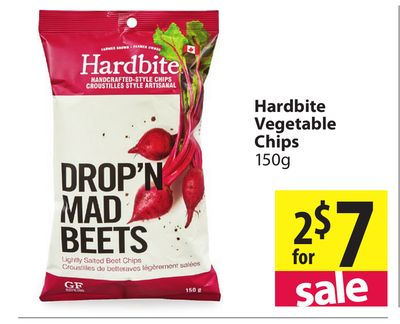 marketing of hardbite chips Tlc snack corner review of hardbite parsnip chips  where to find themnow  i guess it depends on the market area and population.